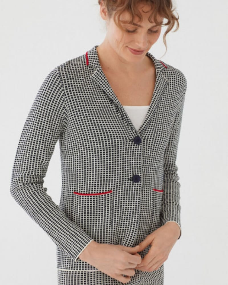 Nice Things Tricot Blazer