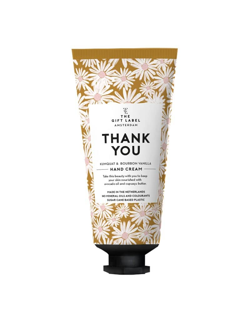 The Gift Label Hand Cream Tube - Thank You